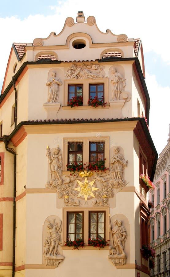 Façade de Prague photos stock