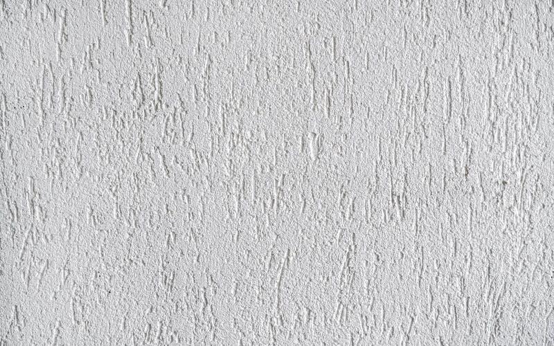 Façade en plâtre blanc fond de texture brute photographie stock