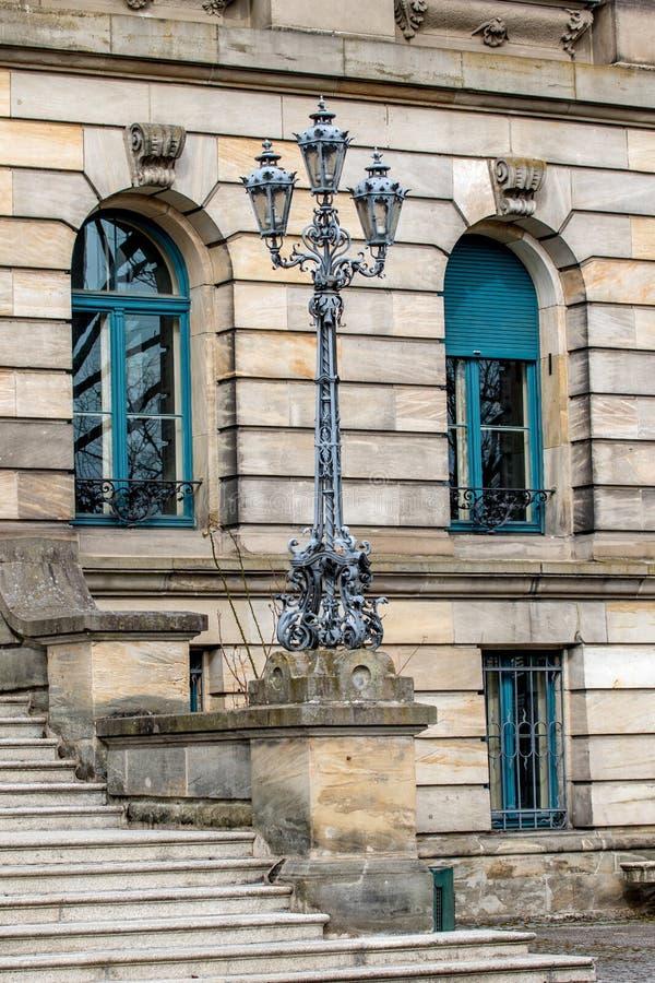 Façade historique - Bayreuth images libres de droits