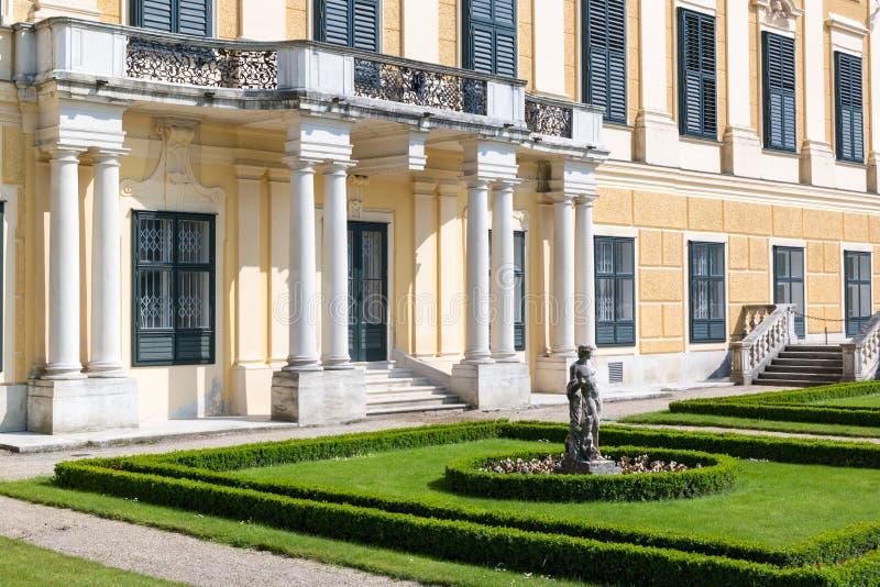 Façade occidentale de palais de Schonbrunn, Vienne, Autriche image libre de droits