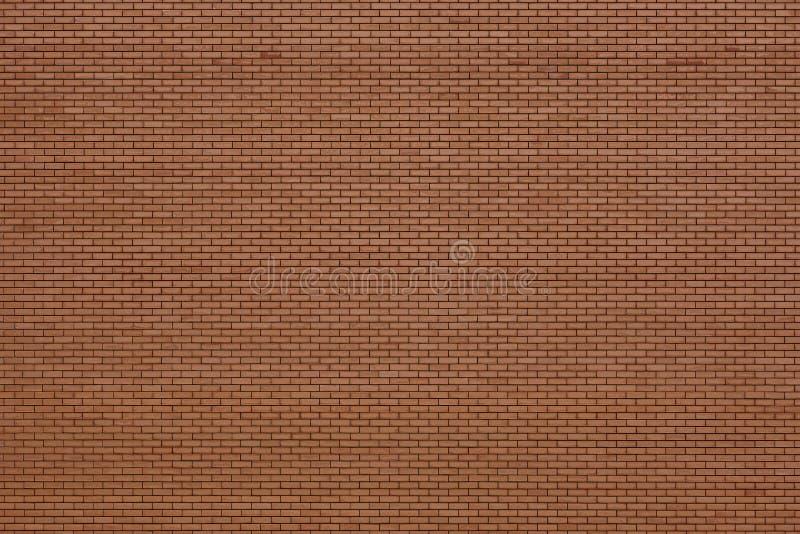 Façade orange de mur de briques Mat?riau de construction Copiez l'espace photographie stock libre de droits