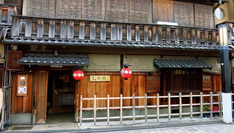 Façade Traditionnelle Japonaise De Chambre Photo éditorial - Image ...