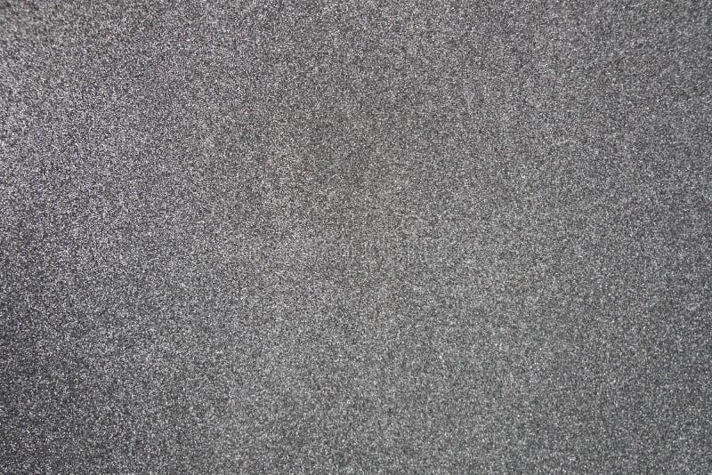Faísca branca do brilho da textura do fundo da folha de prata para o christm imagem de stock