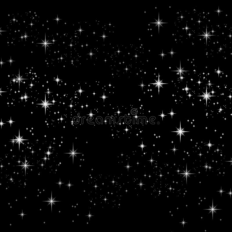A faísca Stars o fundo ilustração royalty free