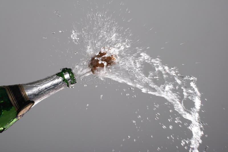 Faíscas do champanhe imagens de stock
