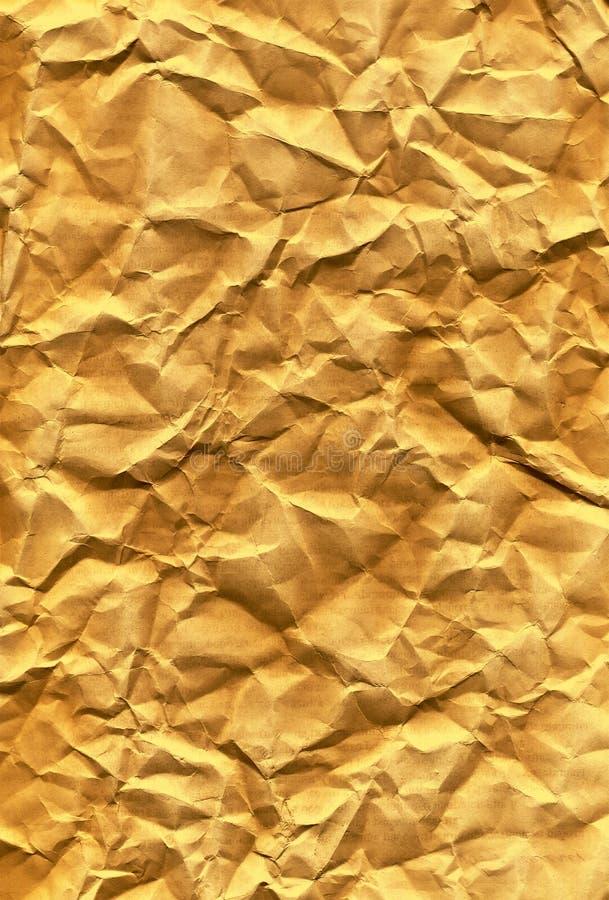fałdowa grunge papieru tekstura obraz stock