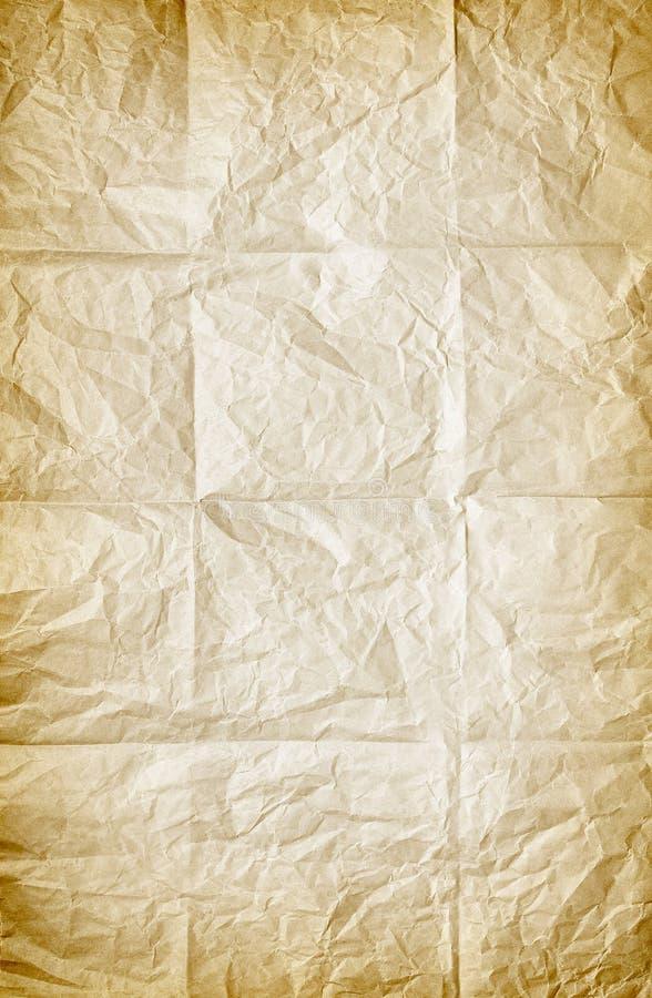 fałdowy papier zdjęcie stock