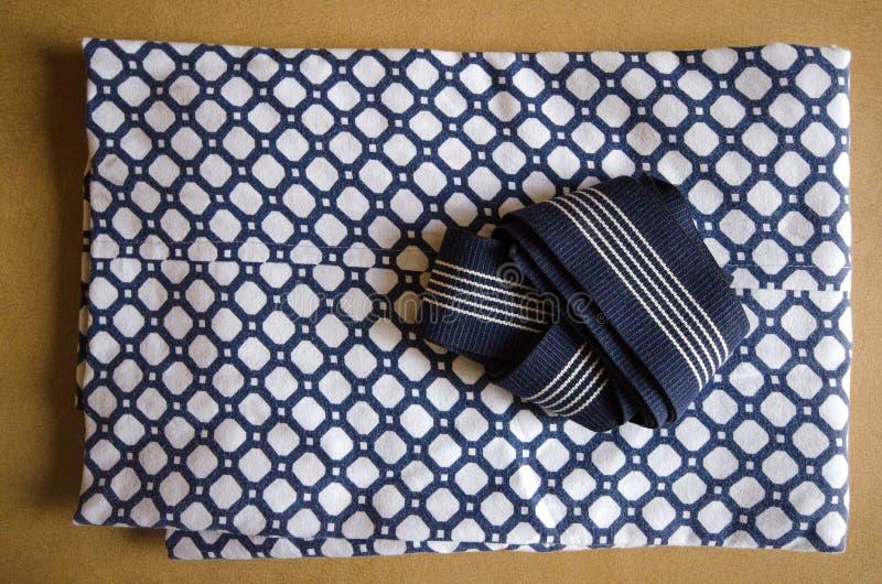 Fałdowy yukata zdjęcie stock