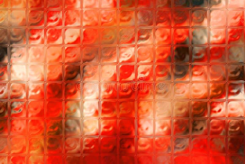 fałszywy tła szkła ilustracji
