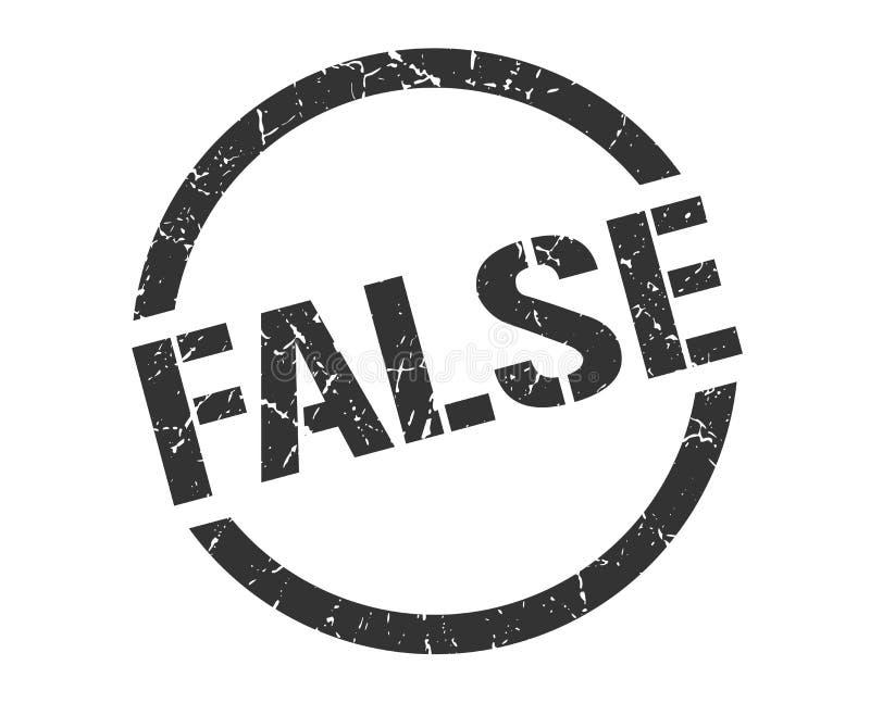 Fałszywy znaczek ilustracji