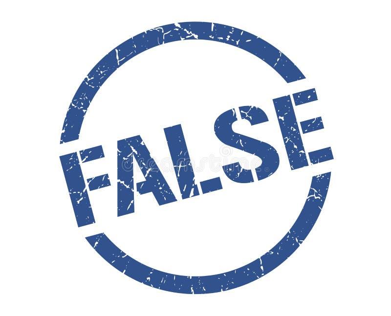 Fałszywy znaczek ilustracja wektor