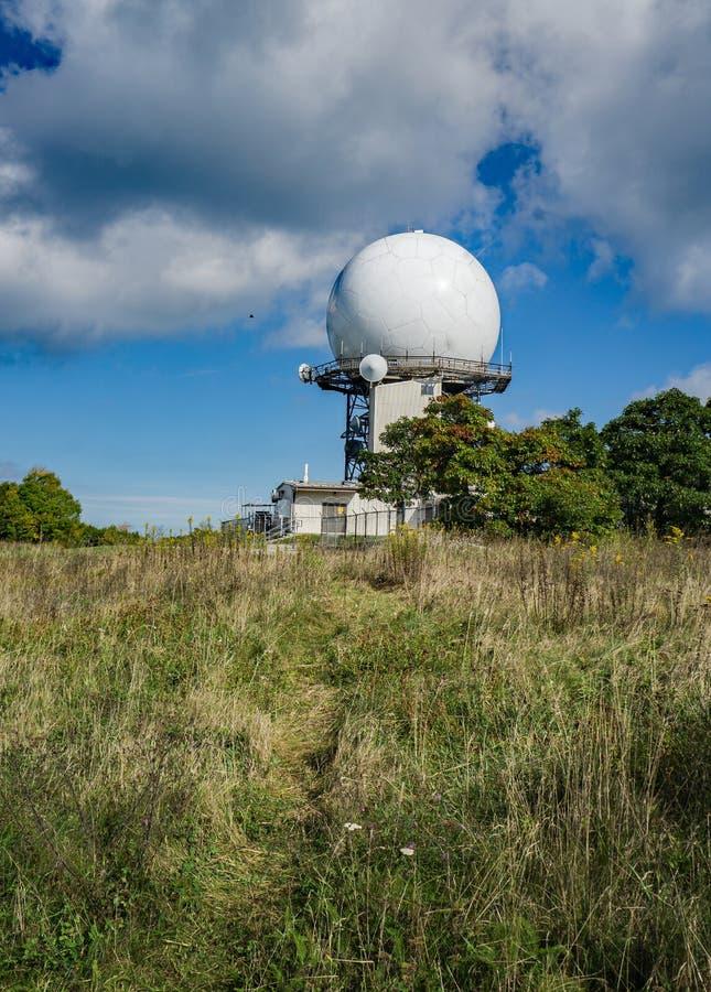 FAA kontrola lotów radar zdjęcia stock