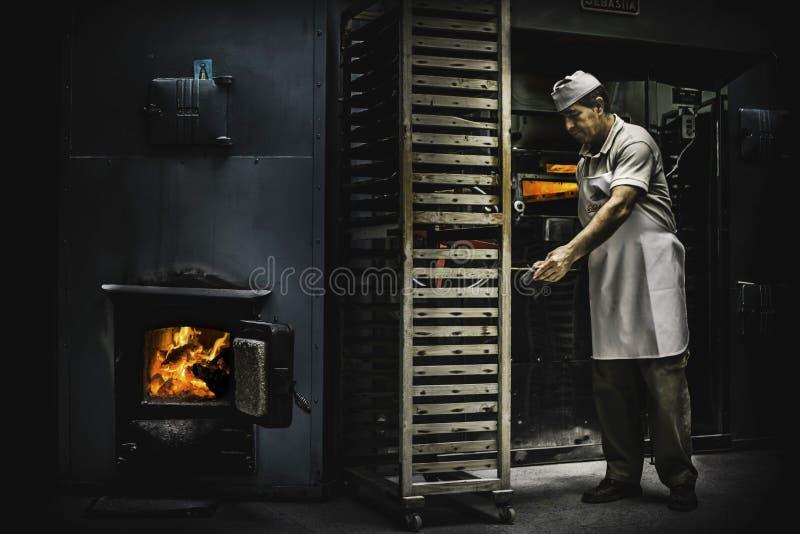 """Fabbrica """"di Mantecados fatto a mano y Polvorones """", dolce spagnolo tipico di Natale fotografia stock libera da diritti"""