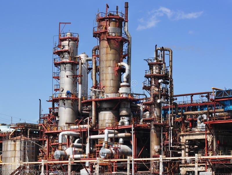 Download Fabbrica chimica fotografia stock. Immagine di benzina - 7310614