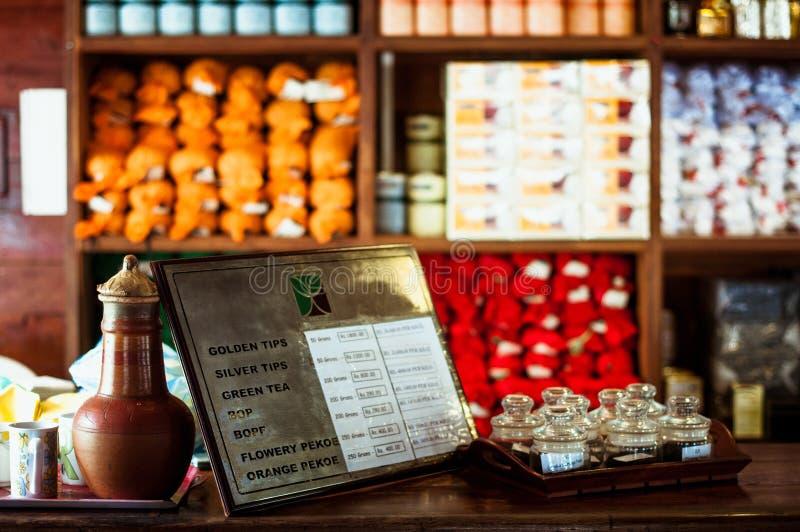 Fabbrica del tè, proprietà di geragama Lo Sri Lanka, Kandy fotografia stock libera da diritti