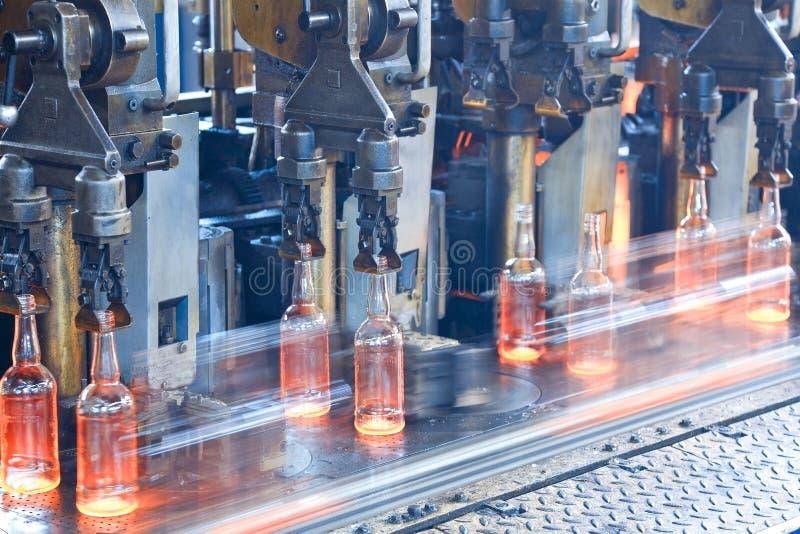 Fabbrica della bottiglia fotografia stock libera da diritti