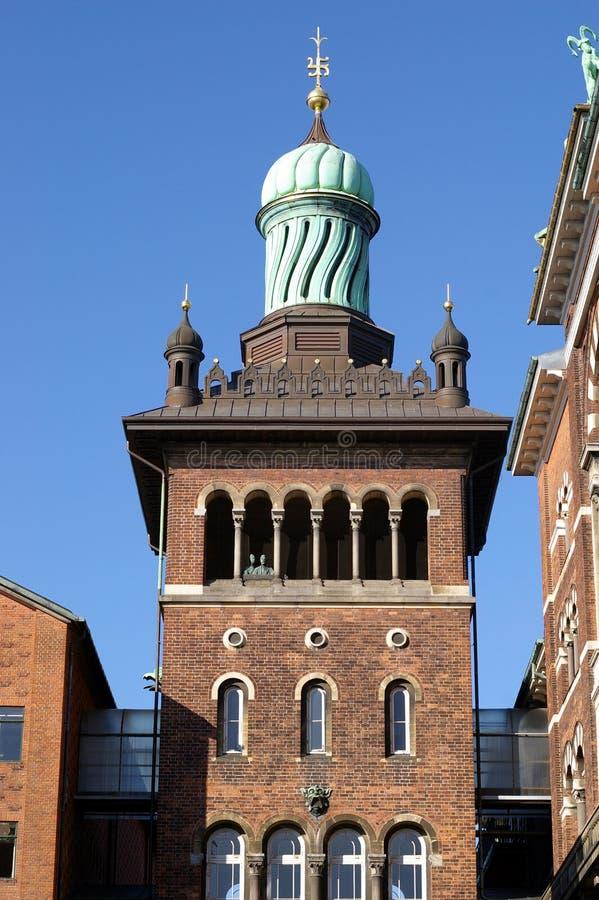 Fabbrica di birra di Carlsberg, Copenhaghen immagine stock libera da diritti