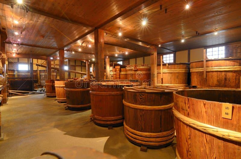 Fabbrica di birra di causa fotografia stock libera da diritti