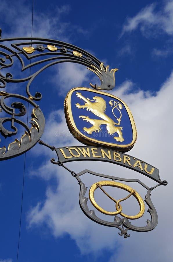 Fabbrica di birra di Monaco di Baviera fotografia stock
