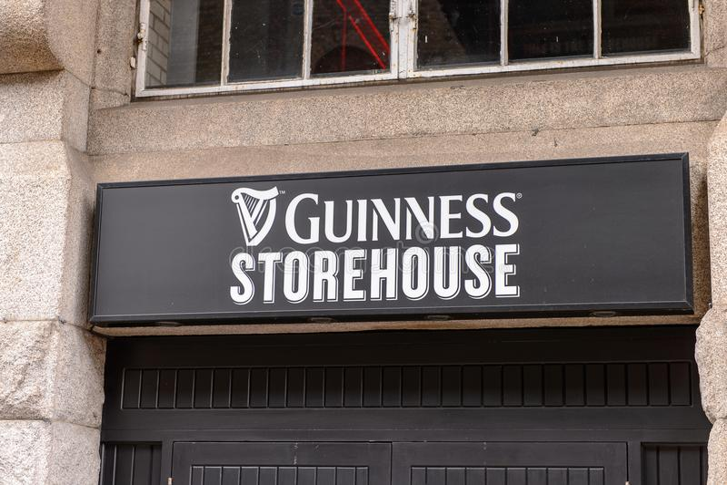 Fabbrica di birra di Guinness, Irlanda fotografia stock