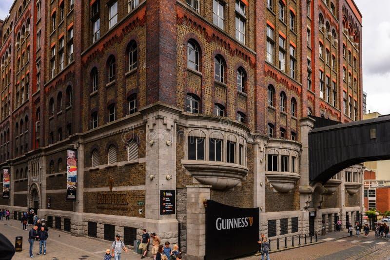 Fabbrica di birra di Guinness, Irlanda fotografia stock libera da diritti