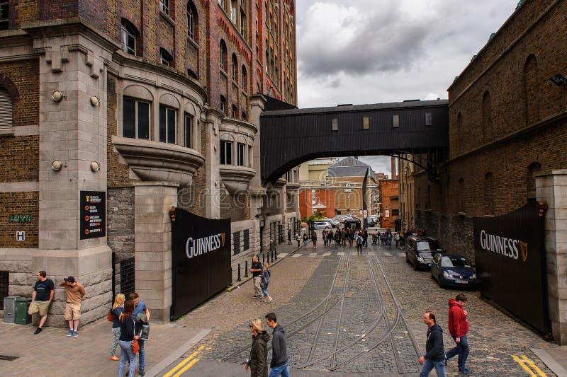 Fabbrica di birra di Guinness, Irlanda immagini stock
