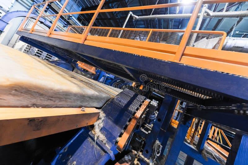 Fabbrica di fabbricazione, produzione alta tecnologia moderna immagine stock
