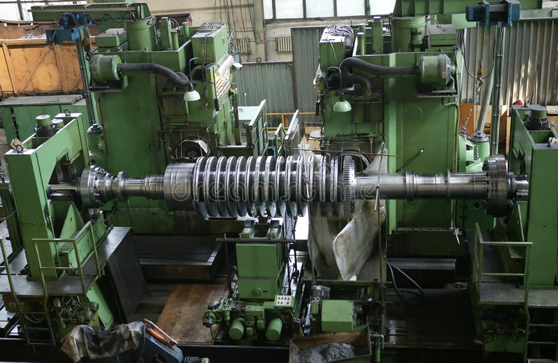 Fabbrica meccanica immagine stock