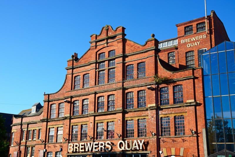 Fabbricanti di birra Quay, Weymouth fotografia stock
