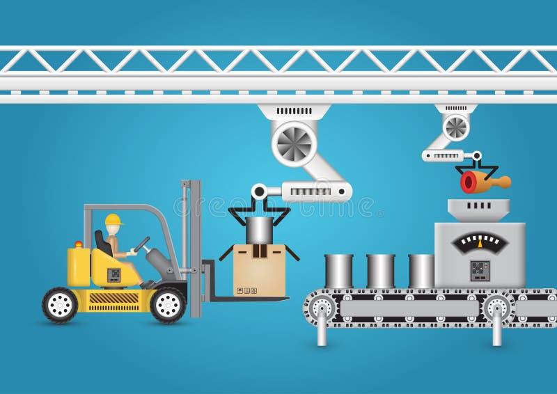 fabbricazione illustrazione di stock