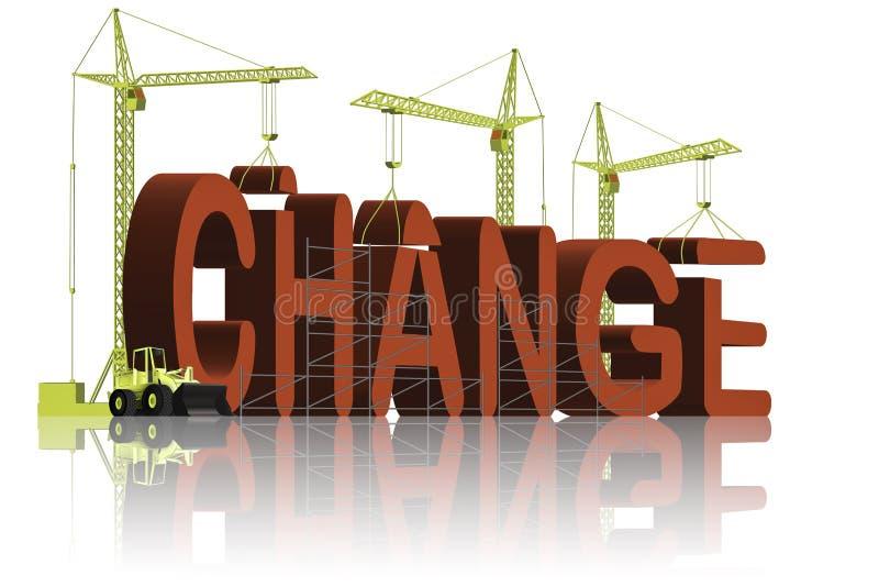 Fabbricazione del cambiamento illustrazione vettoriale
