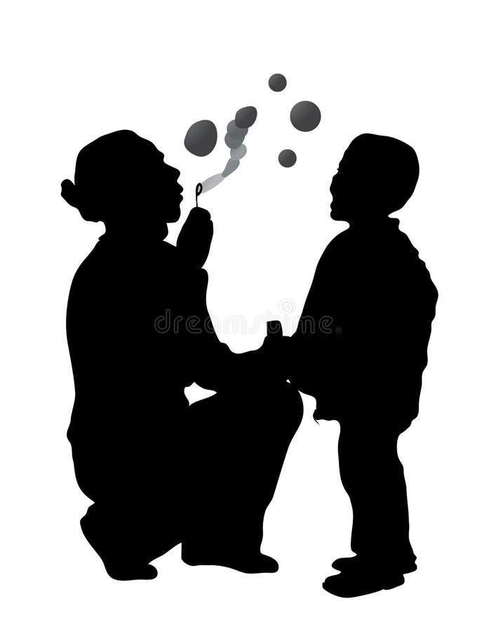 Fabbricazione delle bolle royalty illustrazione gratis