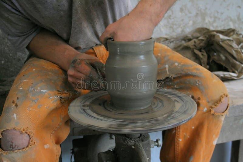Fabbricazione Delle Terraglie Fotografia Stock