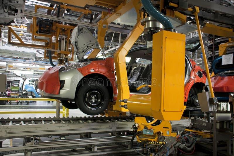 Fabbricazione di industria automobilistica immagini stock libere da diritti
