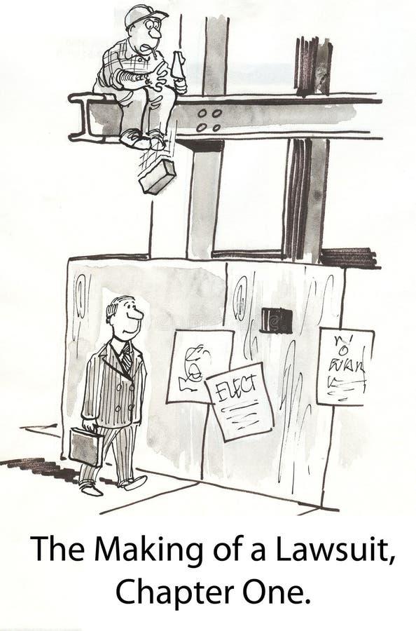 Fabbricazione di una causa royalty illustrazione gratis