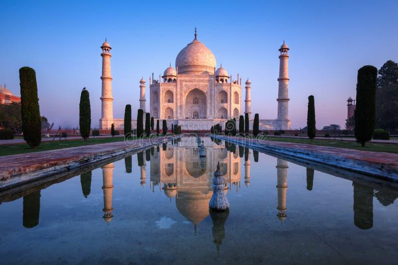 Fabelachtig Taj Mahal royalty-vrije stock afbeeldingen