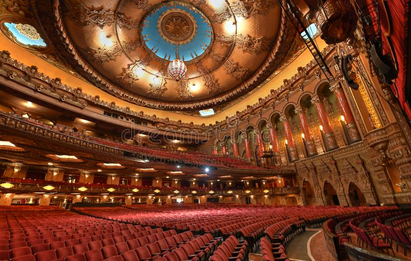Fabelachtig Vostheater in St.Louis stock afbeeldingen