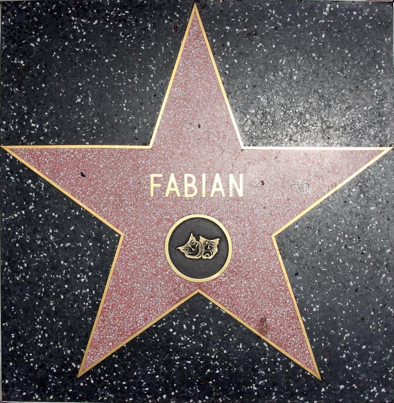 Fabian- gang van bekendheidsster stock afbeeldingen