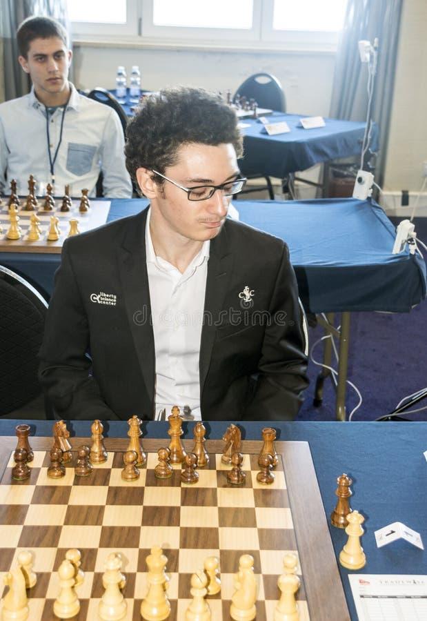 Fabiano Caruana стоковое фото rf