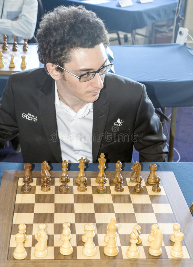 Fabiano Caruana стоковое фото