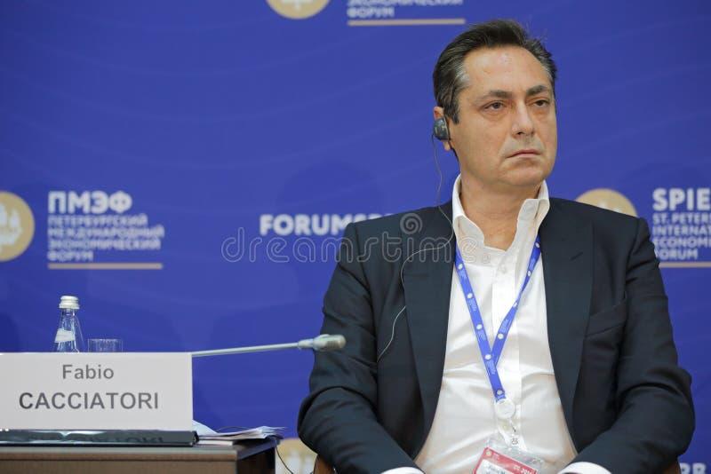 Fabio Cacciatori стоковое изображение rf