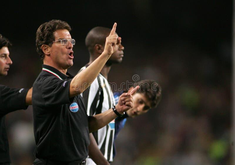 Fabio Capello stockfoto