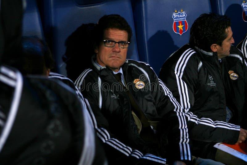 Fabio Capello royalty-vrije stock fotografie