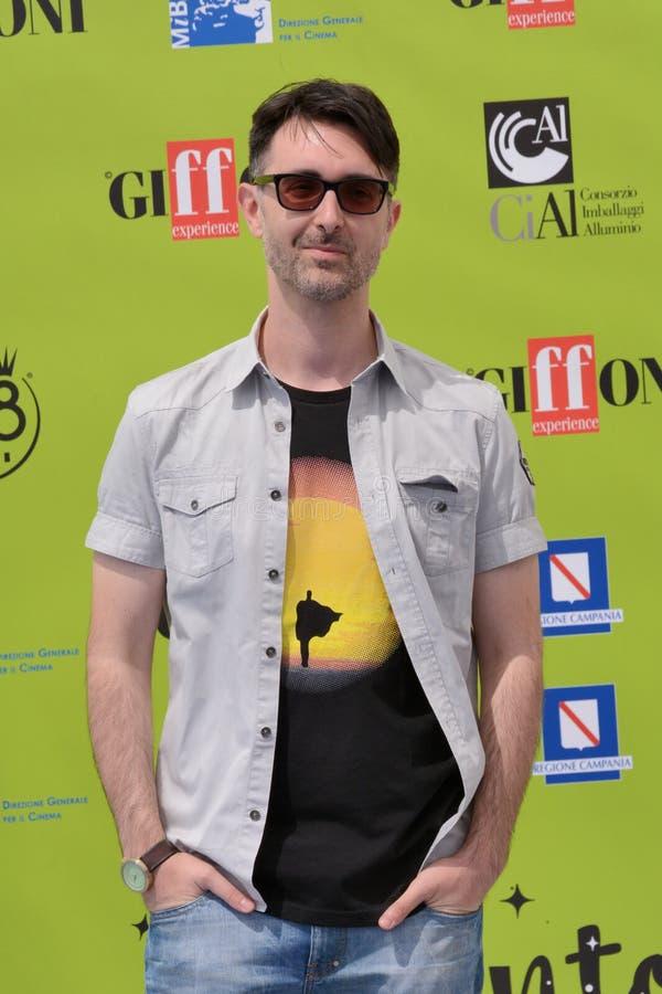 Fabio Guaglione przy Giffoni Ekranowym festiwalem 2017 zdjęcia royalty free