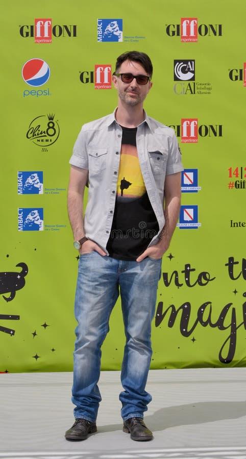 Fabio Guaglione przy Giffoni Ekranowym festiwalem 2017 obraz stock