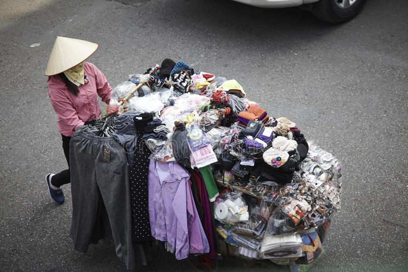 Fabolous参观和旅途向越南 库存图片