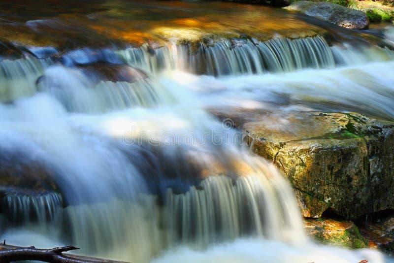 faborek woda, strumień, kamienie, odbicia, natura zdjęcia royalty free