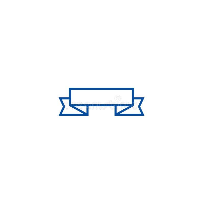 Faborków kąty w górę kreskowego ikony pojęcia Faborek osacza w górę płaskiego wektorowego symbolu, znak, kontur ilustracja ilustracji