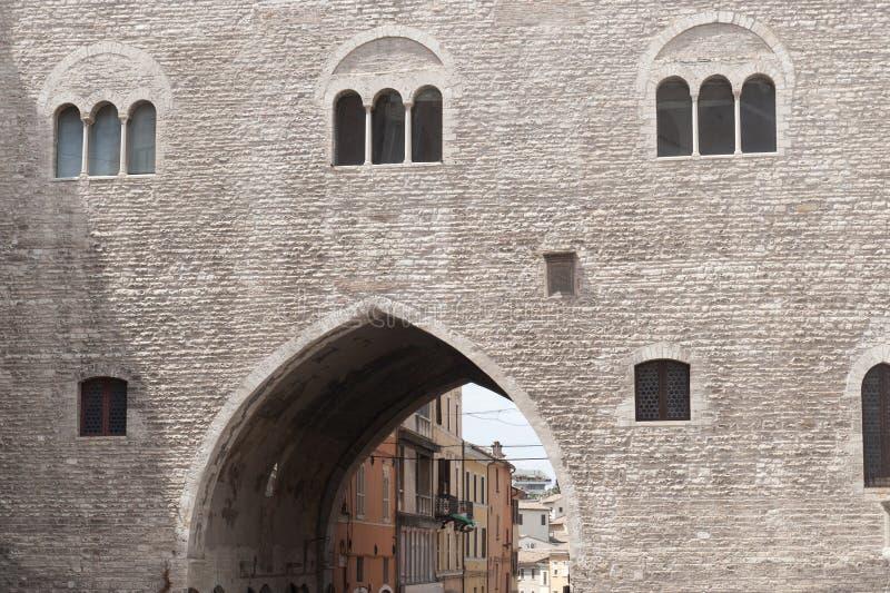 Fabriano (marzos, Italia) fotografía de archivo