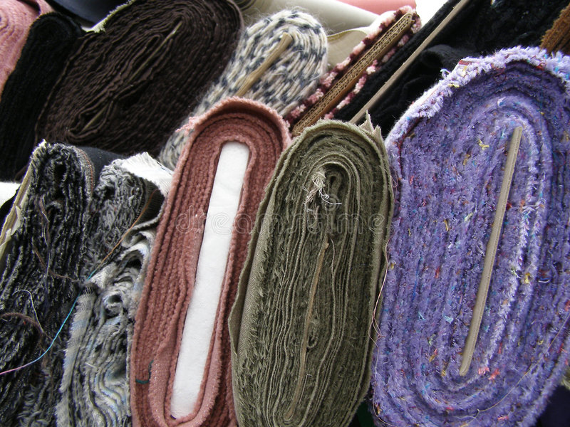 Fabric royalty free stock photos
